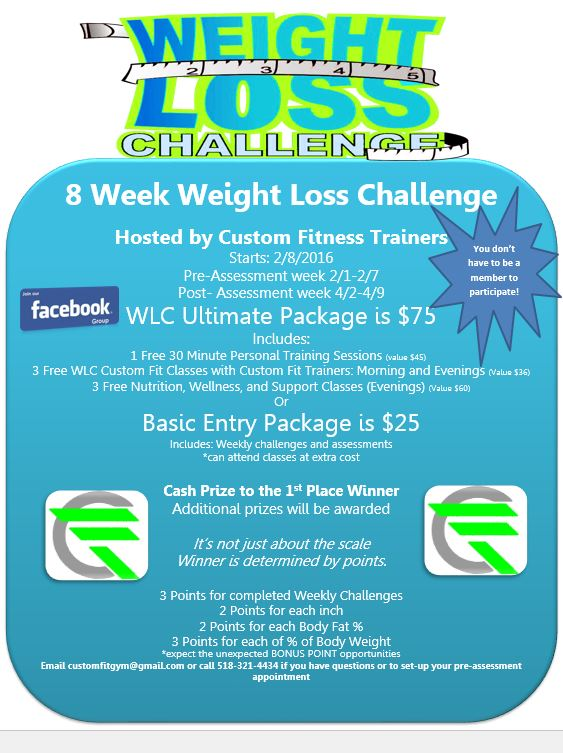 2017 Weight Loss Challenge