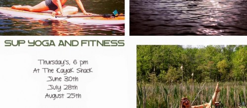 Stand Up Paddle Board Fitness and Yoga Class